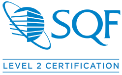 SQF Level 2 Certified