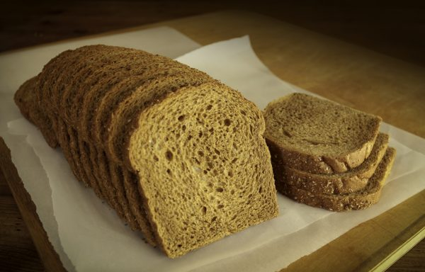 Wheat Sandwich Bread, 1/2″ Sliced