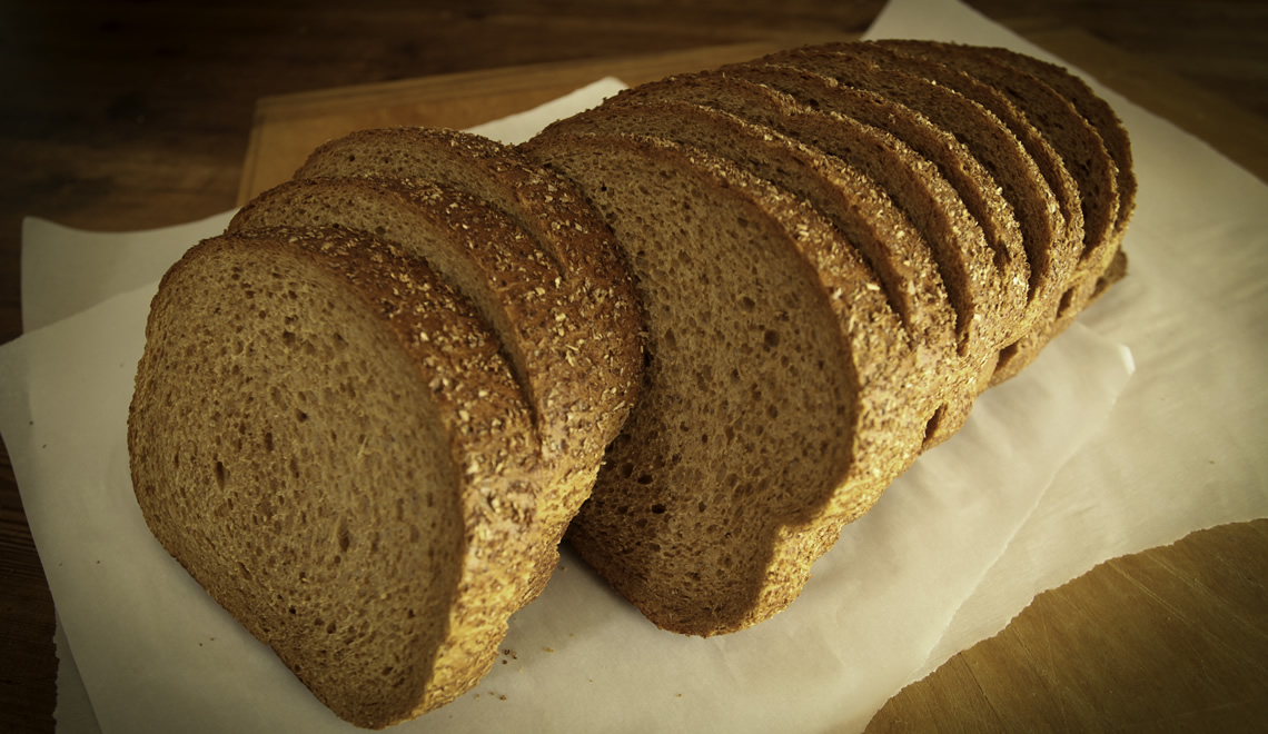 "Wheat Vienna Wide, 3/4"" Thick Sliced"