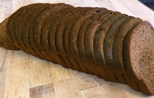 Pumpernickel Vienna Wide, 3/4″ Thick Sliced