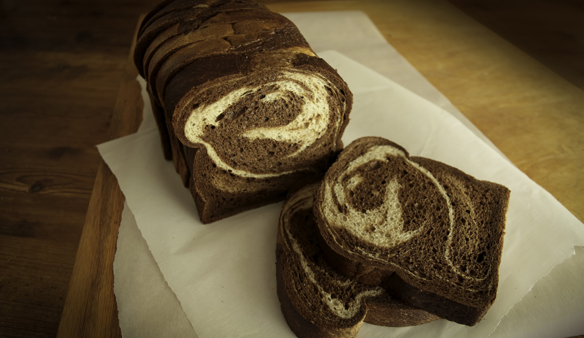 "Marble Rye Vienna Narrow, 3/4"" Thick Sliced"