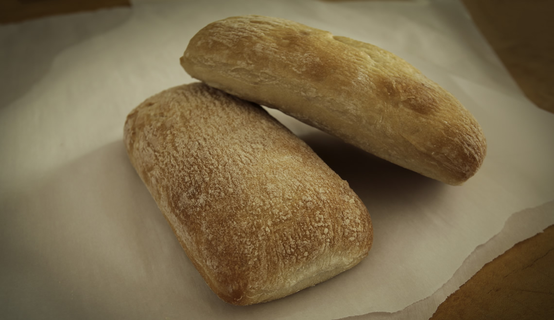 Ciabatta Sandwich Roll, Unsliced